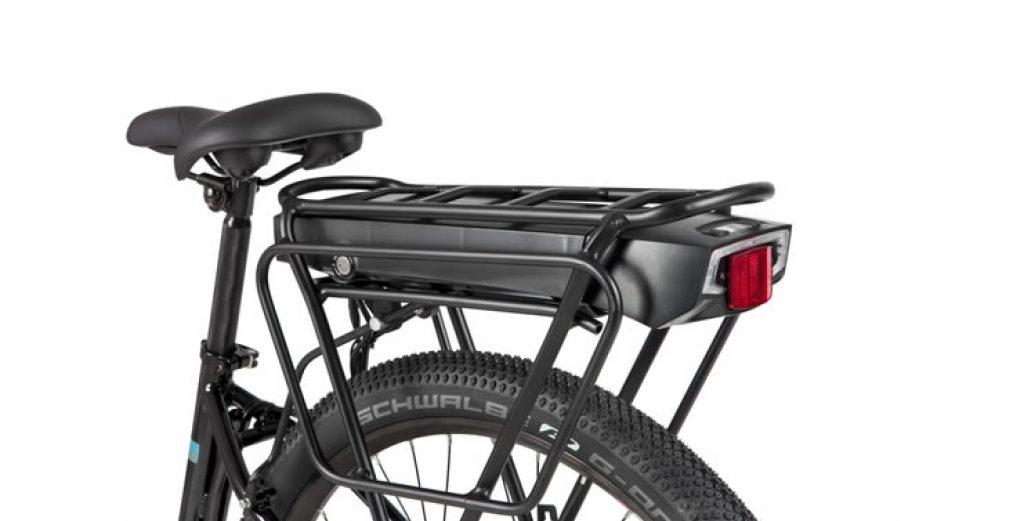 Bagageiro bicicleta elétrica Caloi Easy Rider