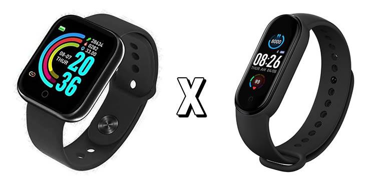 Diferenças entre smartwatch e smartband