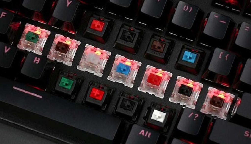 melhor switch para teclado mecânico?