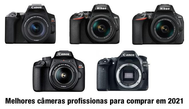 Melhor câmera fotográfica profissional